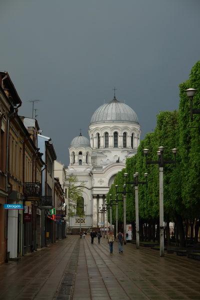 Каунас Ковенский крепостной собор во имя Святых Петра и Павла