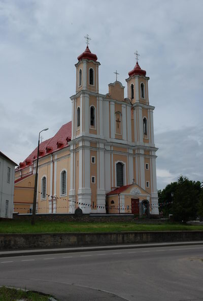 Ворняны ансамбль костела Святого Юрия