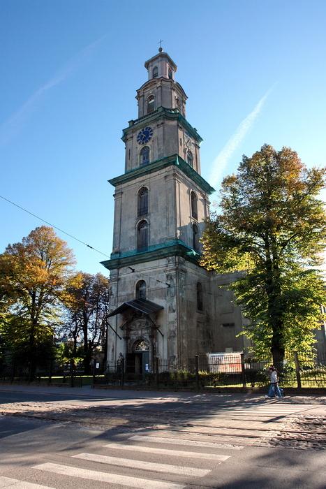 Латвия. Лиепая. Храмы