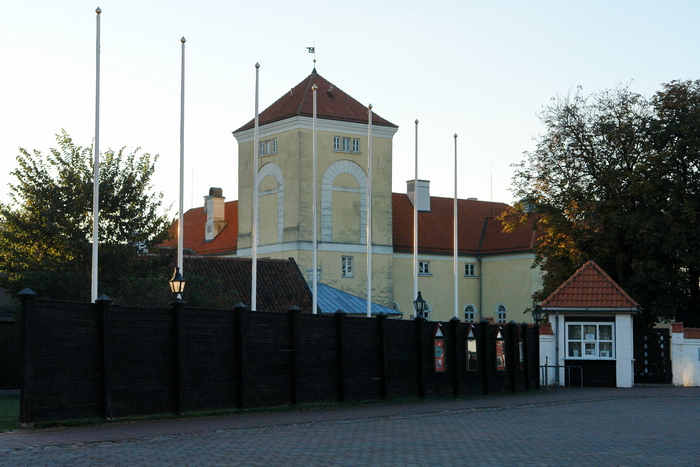 Латвия. Вентспилс. Замок.