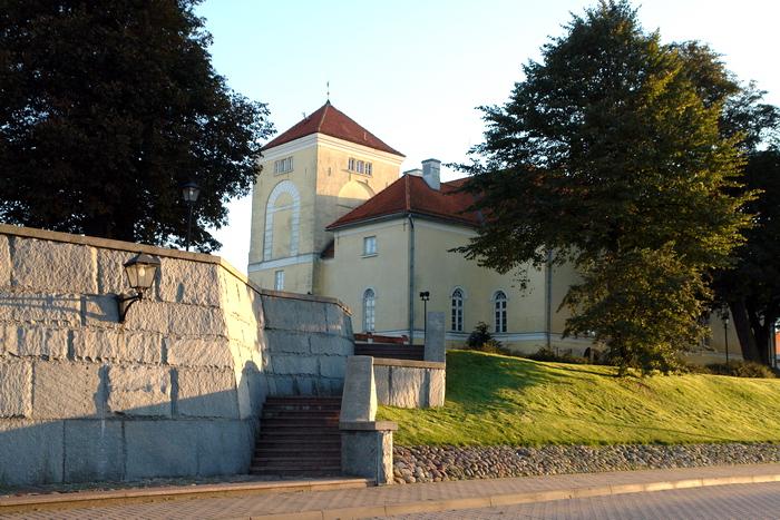 Латвия. Вентспилс. Замок