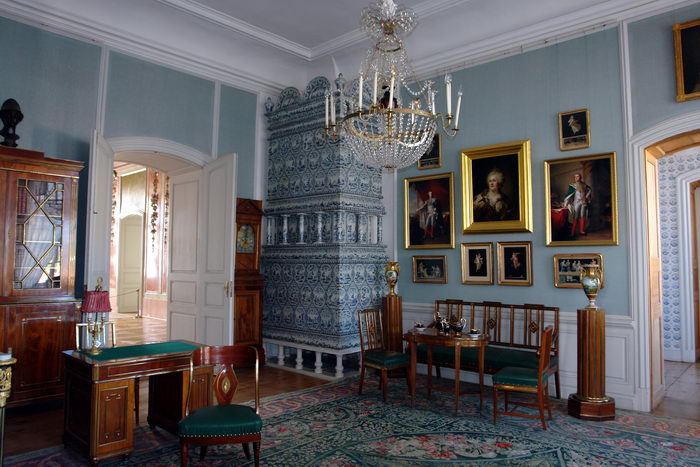 Латвия. Рундальский дворец