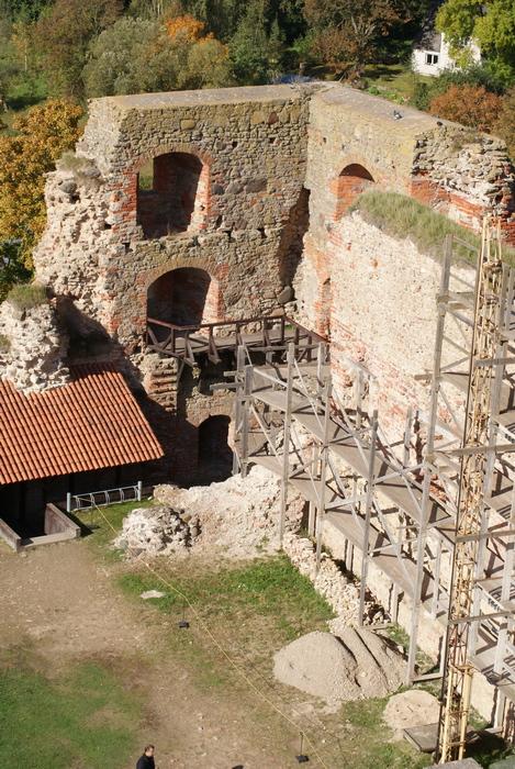 Латвия. Замок в Бауске