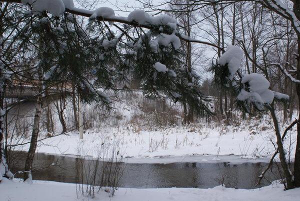 Перешеек Нарочи и Мястро, река Скема