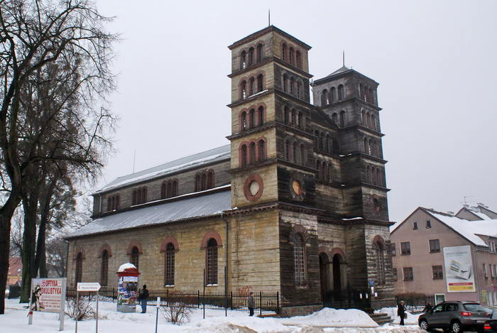 Линдзбарк Вармински. церковь Петра и Павлаа