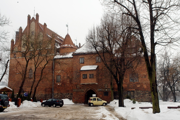 Кентшин. замок Растенбург