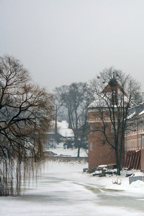Линдзбарк Вармински. Замок