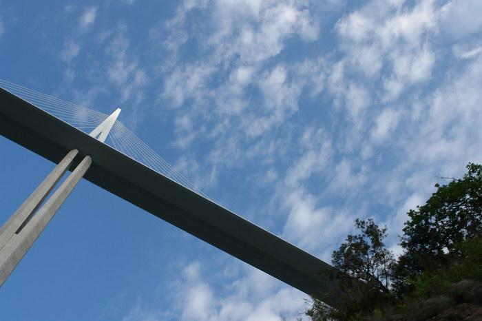самый высокий мост в мире виадук Мийо