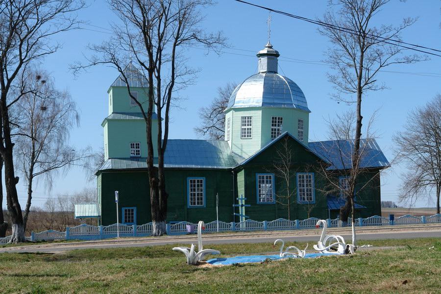 Порплище. Преображенская церковь