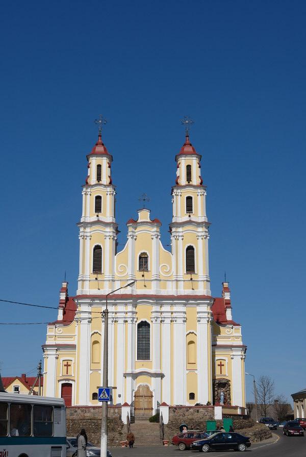 Глубокое Троицкий костел
