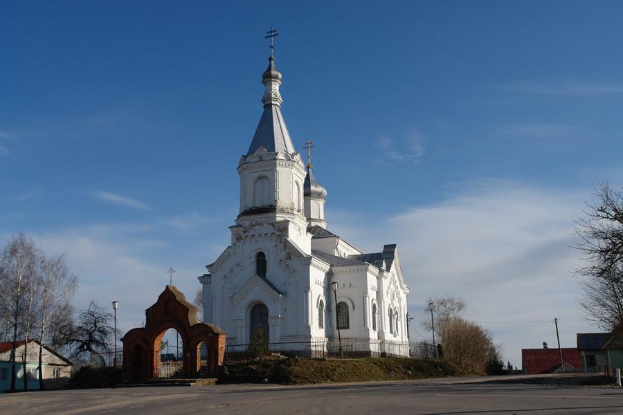 Иказнь Церковь святого Николая