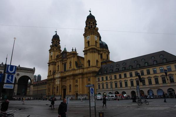 Мюнхен кирхе
