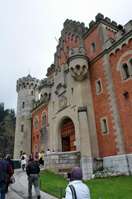 замок Людвига Баварского Нойшванштайн