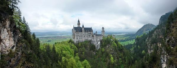 замок Людвига Баварского Нойшванштайн, мост св. Марии