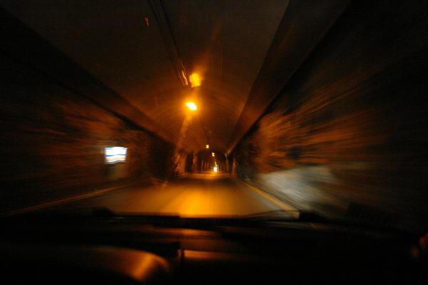 Тоннель по дороге на НОрдкапп