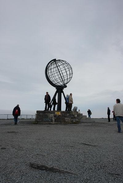 Мыс Нордкап - самая северная точка Европы