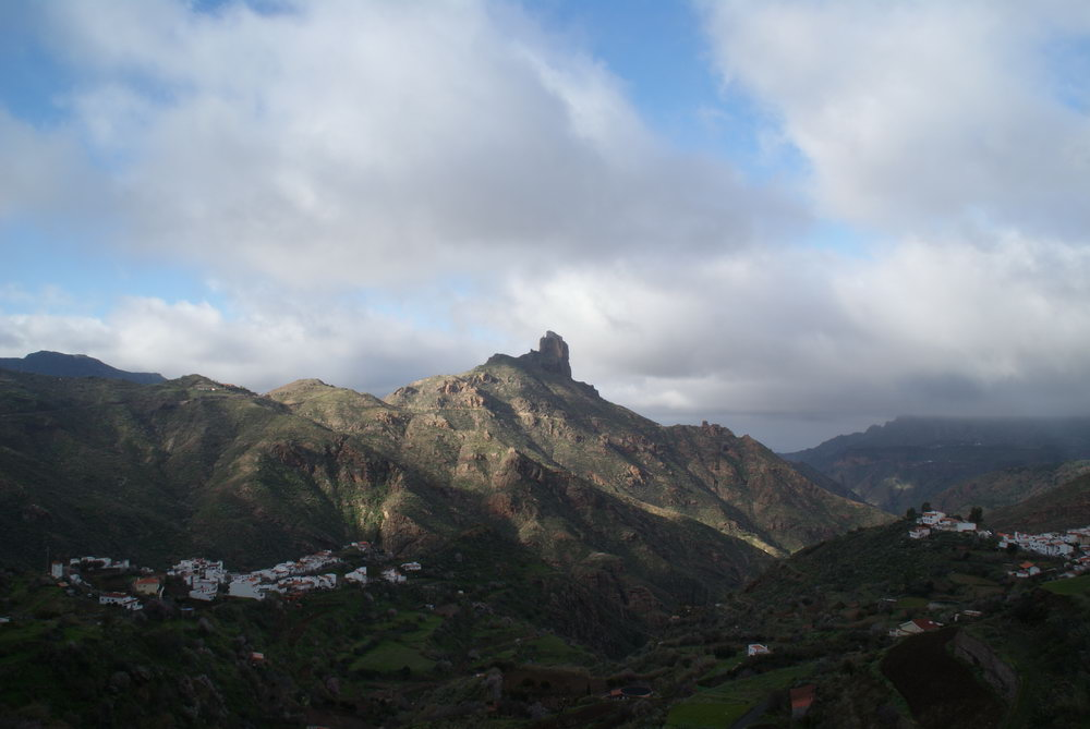 Скала Бентайга. Вид из Техеды