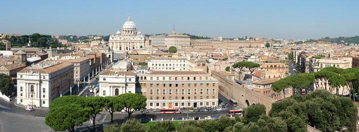 Панорама Ватикана