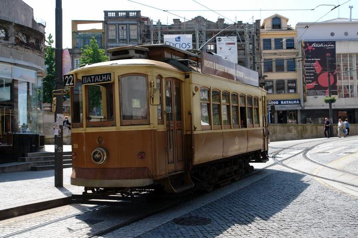 Порту Трамвай в Порту