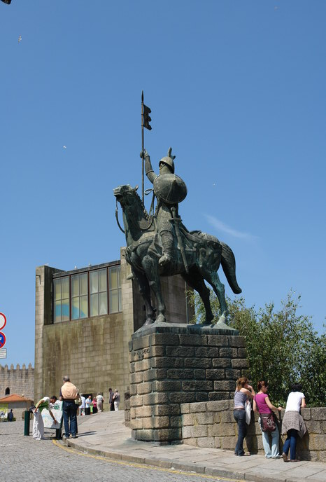 памятник королю Педро