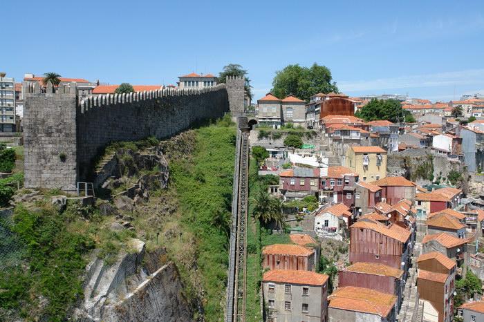 Порту городские стены