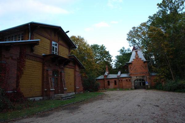 Беловежская пуща, Беловеж, Остатки царской усадьбы