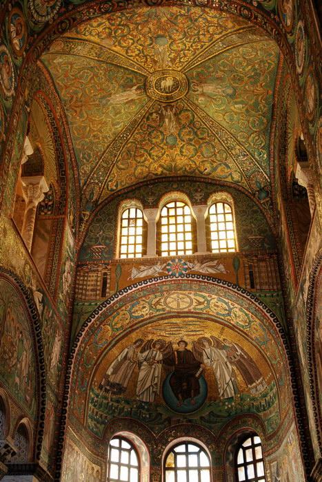 Равенна, Базилика Сан-Витале, базилики и фрески