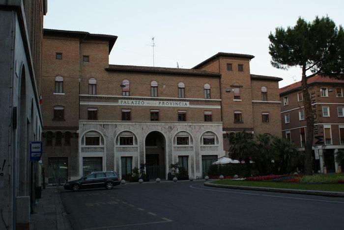 улицы равенны, палаццо ди провинсия