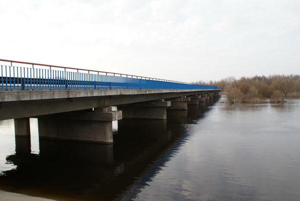 Наводнение в Белоруссии. Разлив реки Неман.