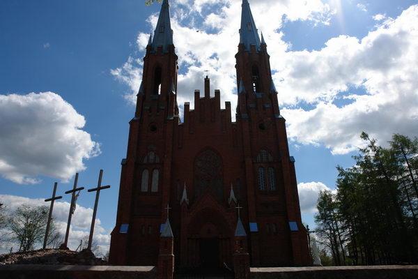 Видзы костел Святой Троицы
