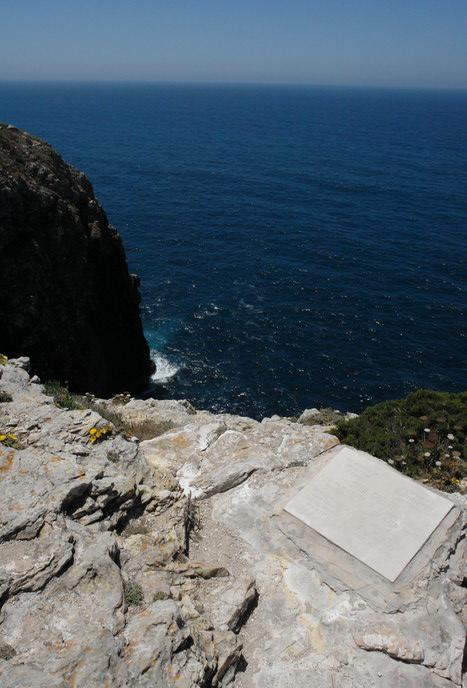 Португалия, Мыс Сан-Винсенте. Скалы