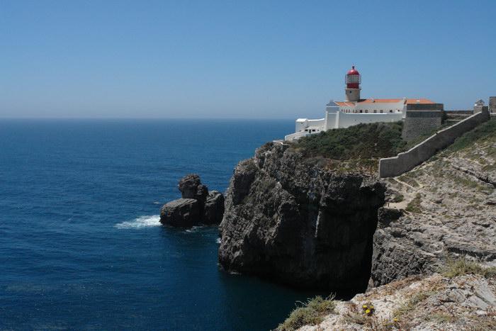 Португалия, Мыс Сан-Винсенте. Маяк