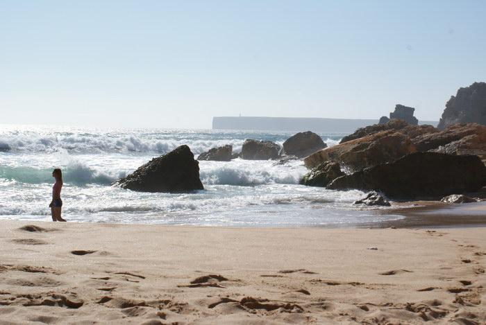 Португалия, Сагрес, пляж Тоннель