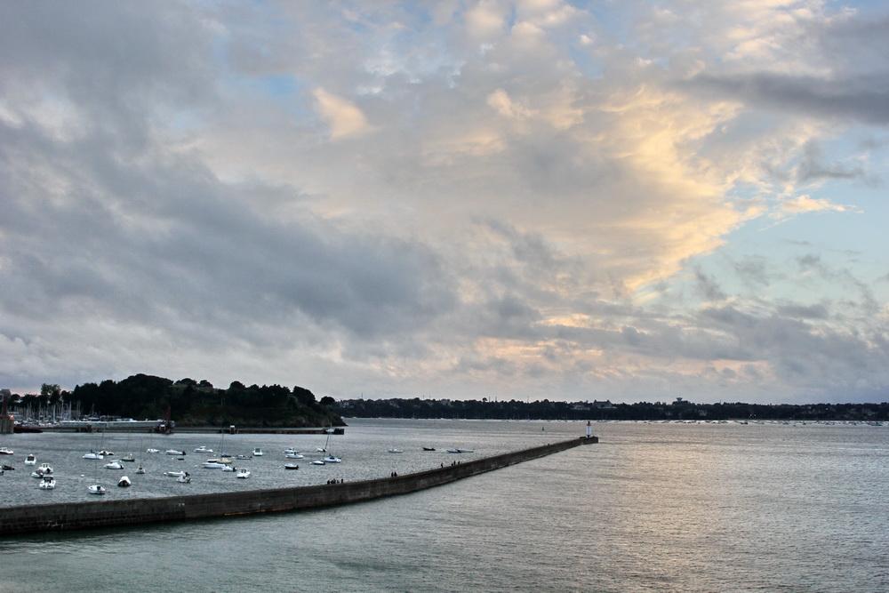 Сен Мало на закате