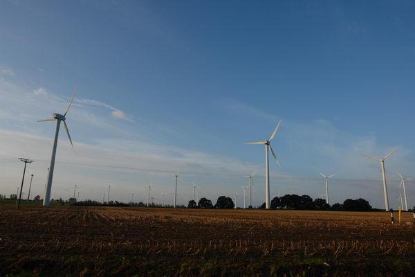 Ветряки, ветряные электростанции в Германии. Мекленбург – Передняя Померания