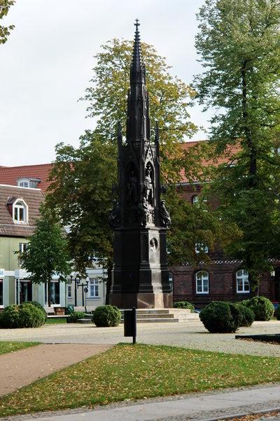 памятник основателю грейфсвальдского университета Генриху Рубенову. Мекленбург – Передняя Померания