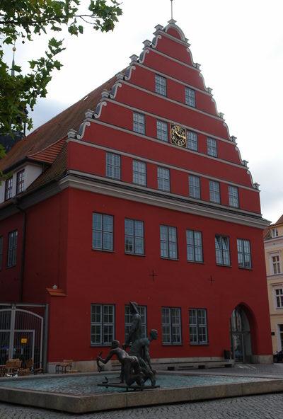 Городская ратуша Грейфсвальд. Мекленбург – Передняя Померания