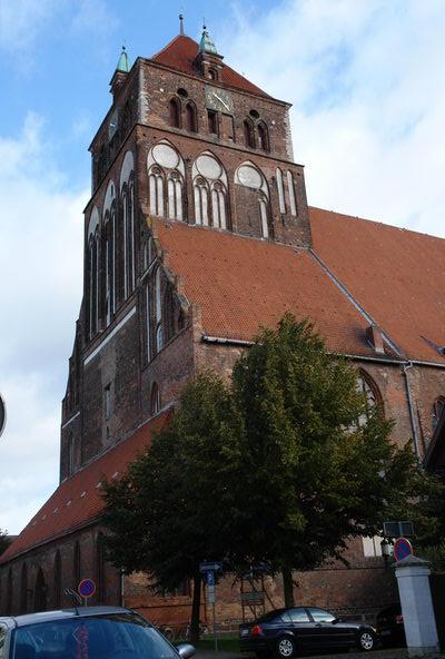 Церковь марии Грейфсвальд. Мекленбург – Передняя Померания