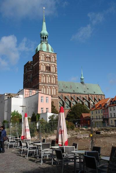 Город украшает множество величественных церквей. Штральзунд. Мекленбург – Передняя Померания