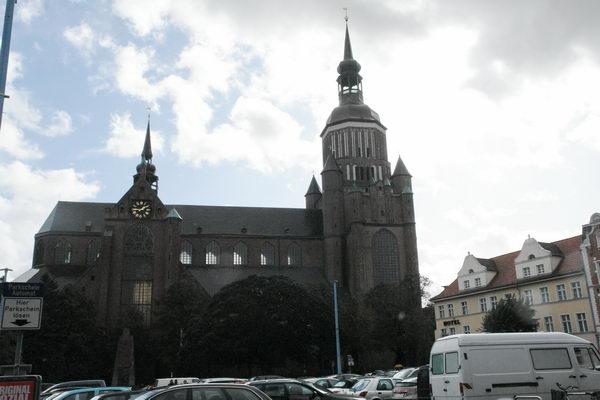 Церковь святой Марии на Новом Рынке. Штральзунд. Мекленбург – Передняя Померания