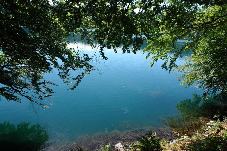 Франция. Центральный массив, озеров Павен