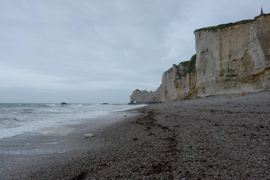 Нормандия, утесы Этрета