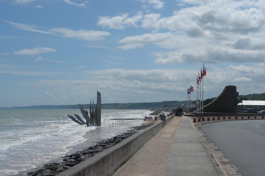 Франция, пляж Омаха-бич