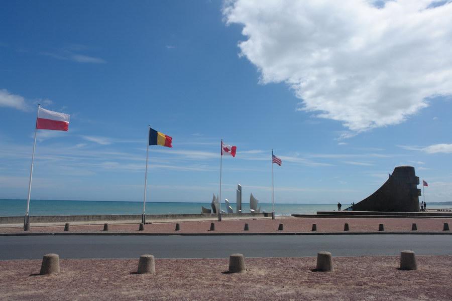 Франция, Монумент на Омаха-бич