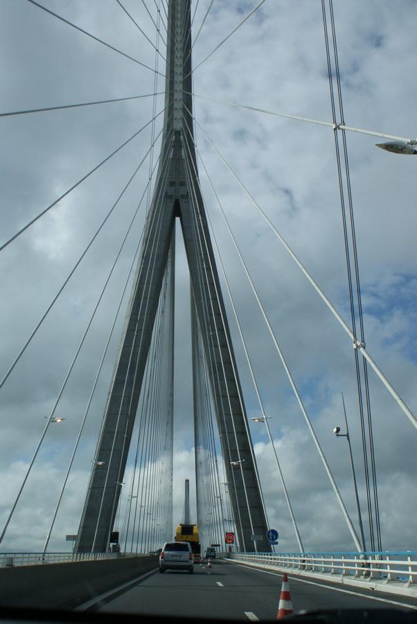 Франция, мост через Эстуарий Сены