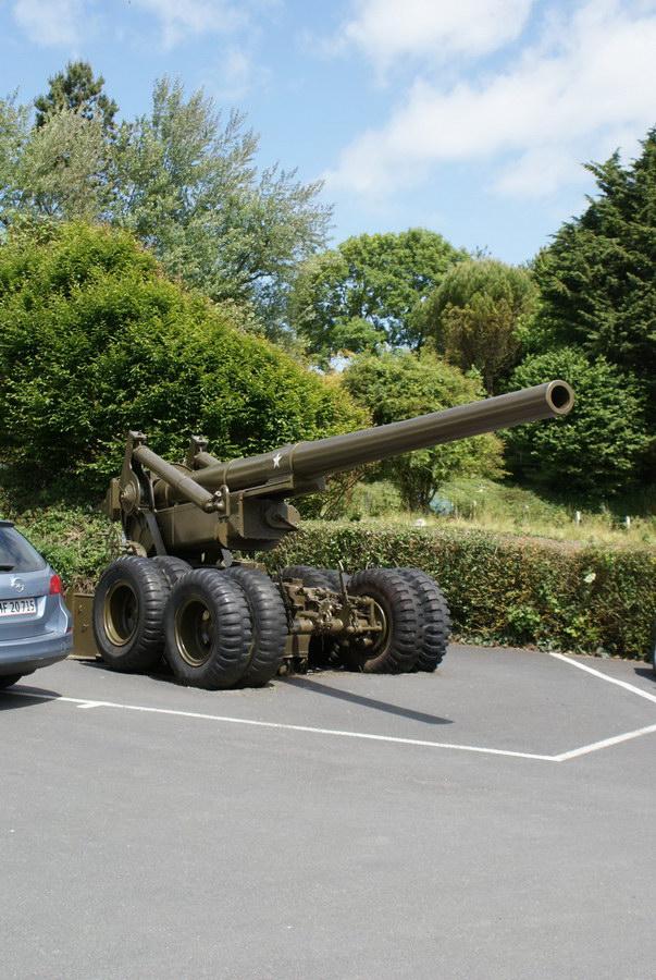 Франция, музей открытия второго фронта на Омаха-Бич в  Сен-Лоран-сюр-Мер