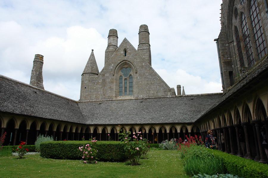 монастырский садик Мон-Сен-Мишель