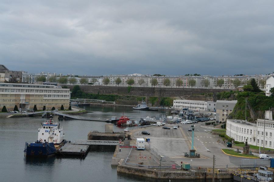 Брест, военная гавань