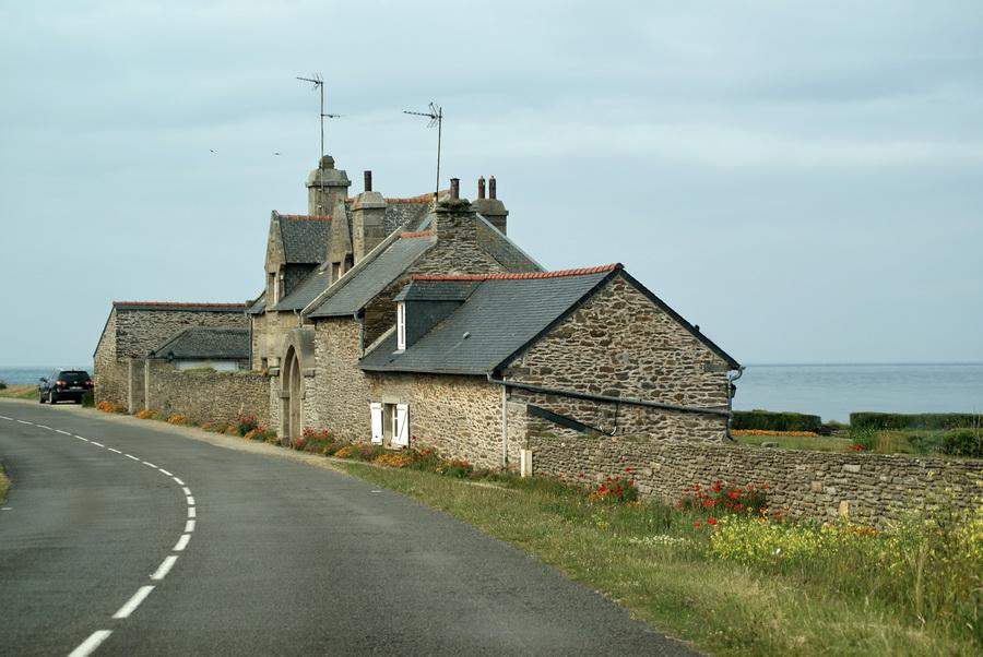 Бретань, по пути на мыс св. Матфея