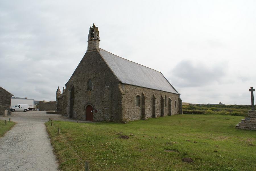 Бретань, монастырь и маяк мыс св. Матфея
